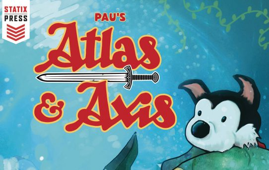 STATIX PRESS ANNOUNCES ENGLISH TRANSLATION OF ATLAS & AXIS!