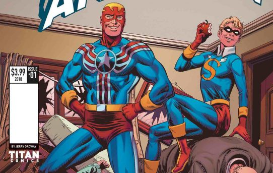 Fighting American Returns With Jerry Ordway Cover!