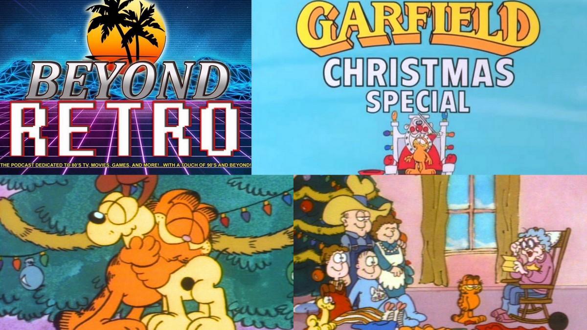 Garfield Christmas.Beyond Retro Episode 13 Garfield S Christmas Special Pop