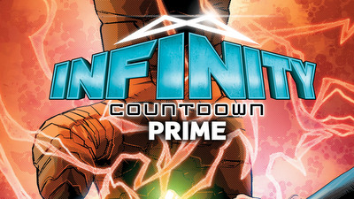 THE COUNTDOWN BEGINS AS THE MARVEL UNIVERSE DISCOVERS WHO HOLDS INFINITY!