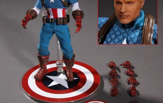 MEZCO TOYZ ONE:12 COLLECTIVE Marvel Captain America