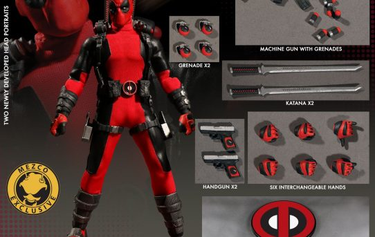 Mezco Toyz One:12 Collective Marvel Deadpool Exclusive
