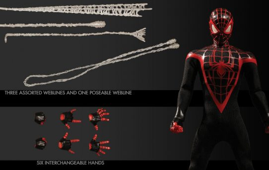 MEZCO TOYZ ONE:12 COLLECTIVE Marvel Ultimate Spider-Man (Miles Morales)