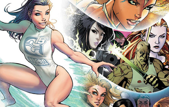 ASPEN COMICS' 15 YEARS OF PUBLISHING KICKS OFF WITH 15-CENT ASPEN LEGACY BOOK
