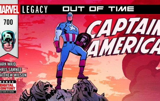 CAPTAIN AMERICA Reaches a Milestone With 700th Issue!