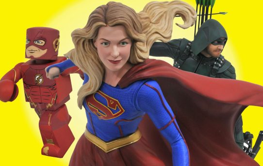 DC Superhero Shows Get New Collectibles from DST!