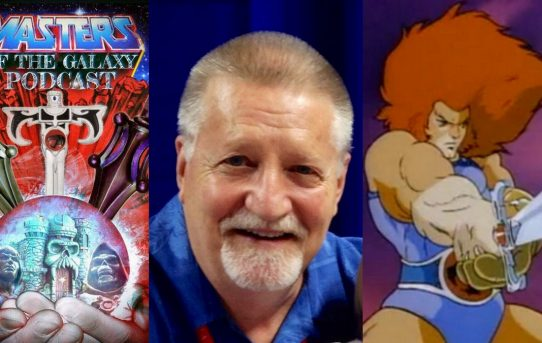 Masters of the Galaxy Episode 51 - LARRY KENNEY! The Voice Of Lion-O!