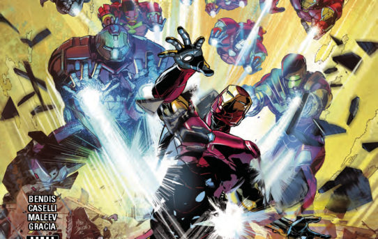 INVINCIBLE IRON MAN #596 Preview