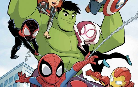All-New, All-Ages Comic Book Series MARVEL SUPER HERO ADVENTURES Coming This Spring!