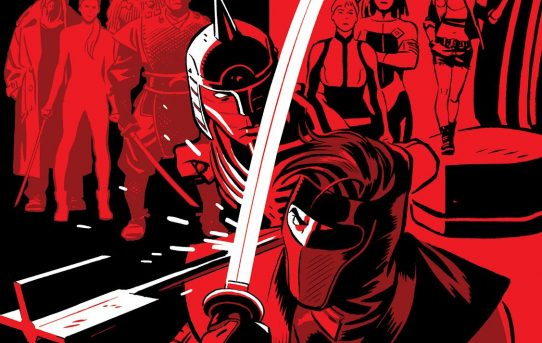 "Christos Gage & Juan José Ryp Form ""THE COALITION"" in NINJA-K #6 – Coming in April!"