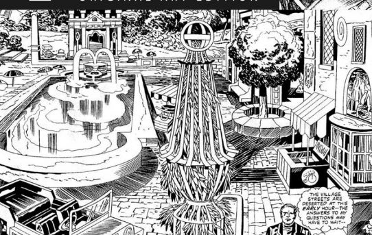 LONG-LOST JACK KIRBY THE PRISONER COMIC BOOK PUBLISHED BY TITAN!