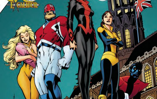 X-MEN GOLD ANNUAL #1 Preview