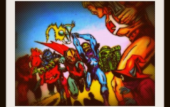 Fans of Power Episode 41 - Movie News and Rants, EVIL vs EVIL, HORDAK Mini Comic