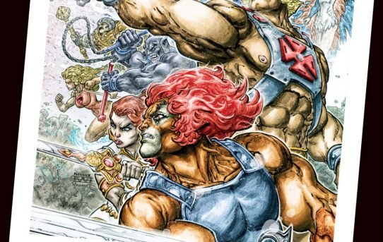 Fans of Power Episode 49 - Brian is Missing?!, NYCC News, He-Man Thundercats #1