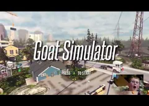 DiRT & 4TG Play Goat Simulator MMO!