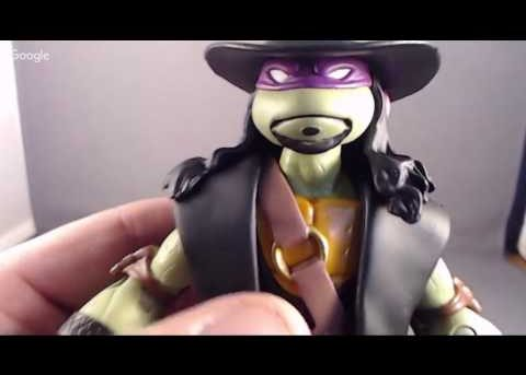 TMNT Ninja Superstars Donatello as the Undertaker Review
