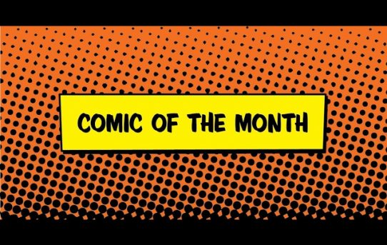DiRT's Comic Of The Month Club Review