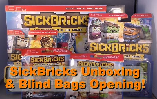 SickBricks Unboxing and Blind Bag Opening