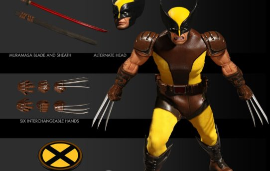 Mezco Toyz One:12 Collective Marvel Wolverine Brown Suit