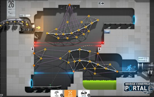 Bridge Constructor Portal is coming to PlayStation®4, Xbox One and Nintendo Switch very soon