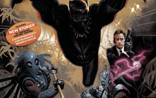 BLACK PANTHER ANNUAL #1 Preview