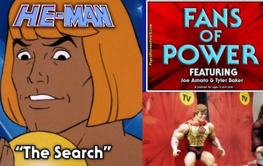 Fans Of Power Episode 118 - John T Atkin talks Toy Fair, Filmation's The Search