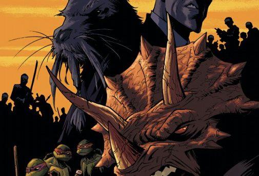 Teenage Mutant Ninja Turtles #79 Preview