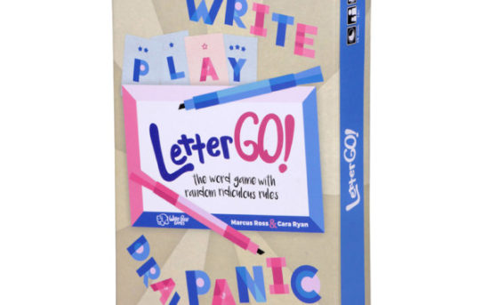 WizKids Announces Letter Go! – A New Word Game with Randomly Ridiculous Rules!