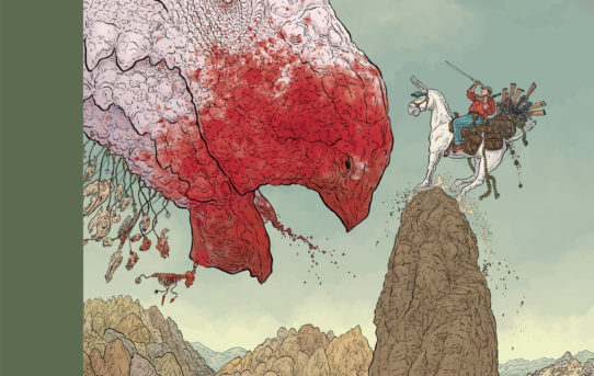 Dark Horse To Publish Geof Darrow's SHAOLIN COWBOY: START TREK