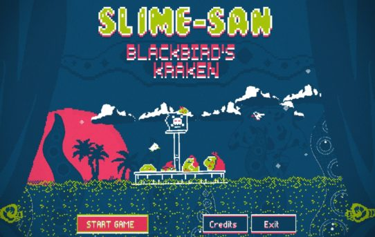 """Slime-san: Blackbird's Kraken"": Unleash a Giant Kraken now on Nintendo Switch - for FREE!"