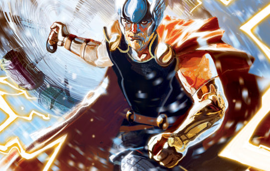 Marvel Announces THOR #1 by Aaron and Del Mundo!