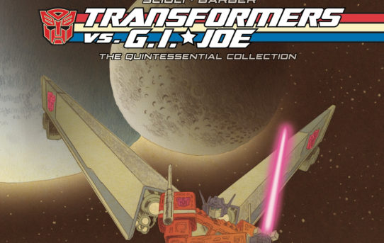 Tom Scioli's Acclaimed Transformers vs. G.I. Joe Series Gets Deluxe Package!