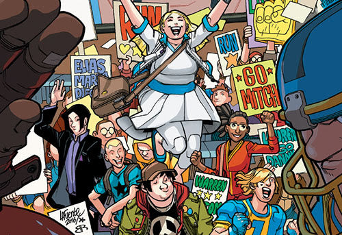 VALIANT HIGH #1 – Daniel Kibblesmith & Derek Charm Bring Valiant's First All-Ages Escapade to Comic Shops Everywhere on May 30th!