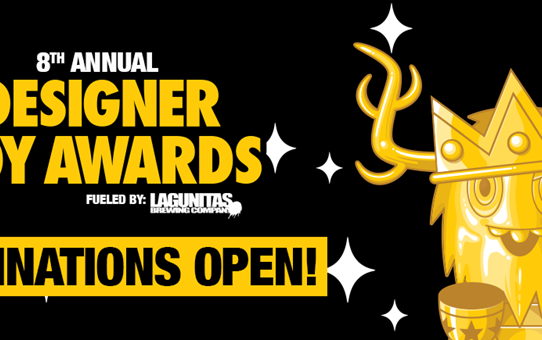 The 8th Annual Designer Toy Awards Nominations Are Now Open!​