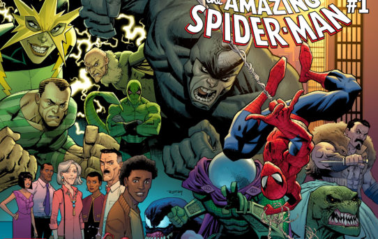 Marvel Announces AMAZING SPIDER-MAN #1 by Nick Spencer & Ryan Ottley
