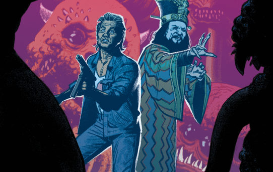 BIG TROUBLE IN LITTLE CHINA: OLD MAN JACK #7 Preview