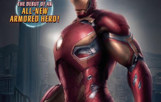 IRON MAN HONG KONG HEROES #1 Preview