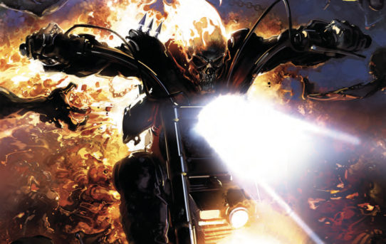 JOHNNY BLAZE GHOST RIDER #1 Preview