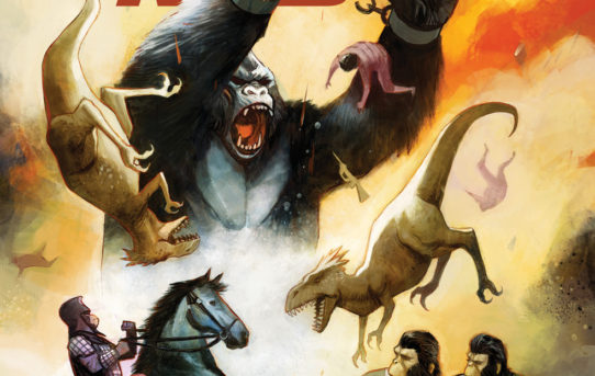 Kong on the Planet of the Apes #5 (of 6) Preview