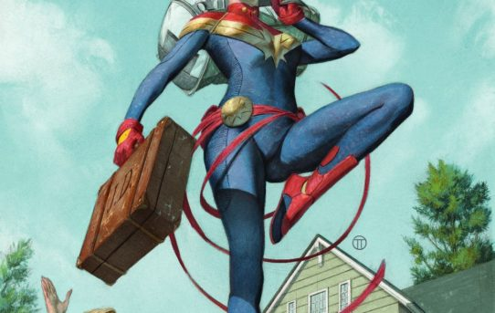 Marvel Announces THE LIFE OF CAPTAIN MARVEL #1 by Margaret Stohl & Carlos Pacheco!