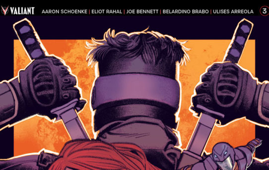 Valiant Preview: NINJAK VS. THE VALIANT UNIVERSE #3 – On Sale March 14th!