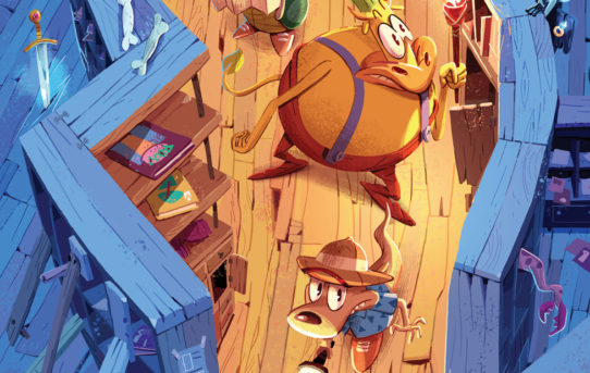 Rocko's Modern Life #4 Preview