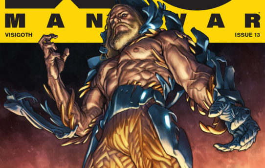 Valiant Preview: X-O MANOWAR #13 – On Sale March 28th!