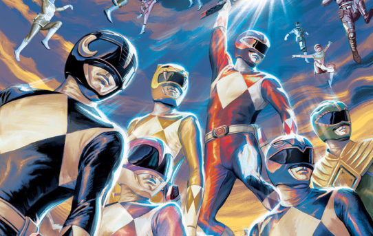 Celebrate Saban's Power Rangers 25th Anniversary With A New Comic Book Special!
