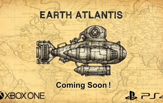 """Earth Atlantis"" coming to PlayStation®4 and Xbox One"
