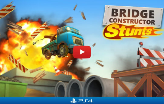 "Explosive ""Bridge Constructor Stunts"" Smashing Onto PS4 Soon"