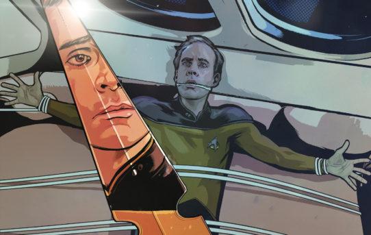 Star Trek: The Next Generation returns to comics in new miniseries!