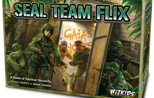 WizKids Unveils Upcoming Line of Board Games at GAMA Trade Show