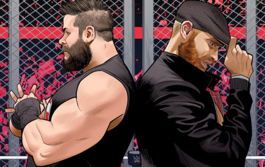 WWE Superstars Kevin Owens & Sami Zayn Fight Forever At BOOM! Studios!