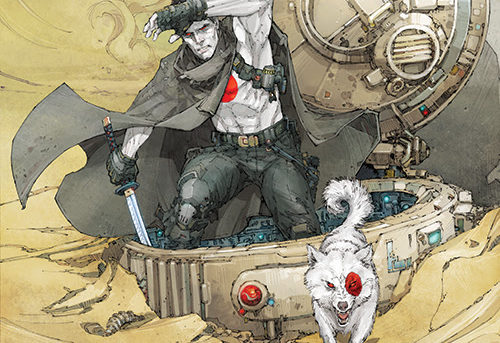 "Jeff Lemire & Doug Braithwaite Jump to 4001 A.D. for ""THE BOOK OF REVELATIONS"" in BLOODSHOT SALVATION #10 – Coming in June!"